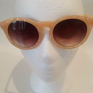American Eagle Coral round Ladies Sunglasses